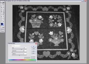 black white screen shot