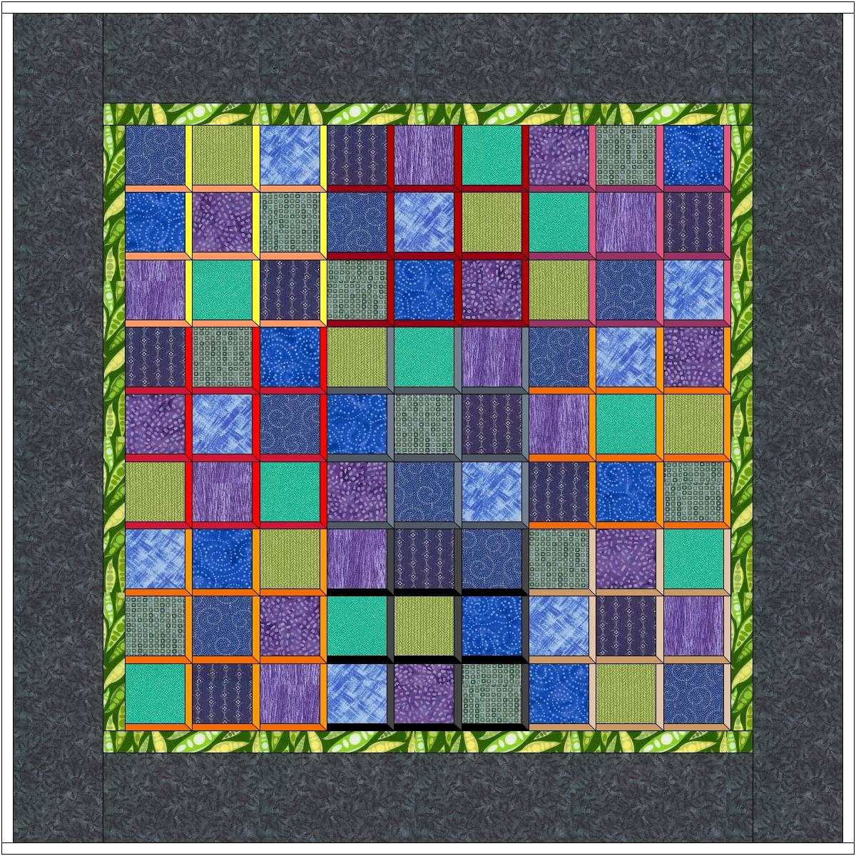 Sudoku Quilt Scientific Quilter