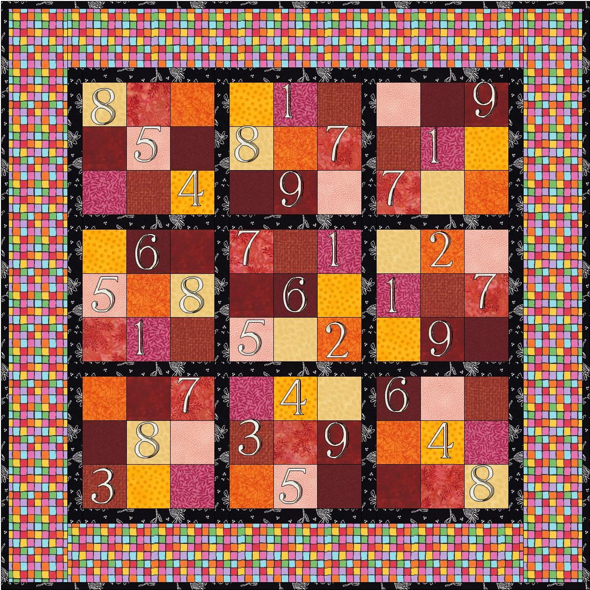 sudoku quilt | Scientific Quilter : sudoku quilt pattern free - Adamdwight.com