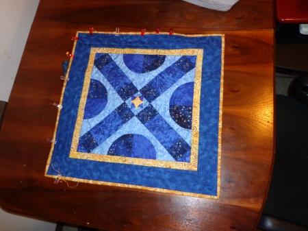 mini star quilt