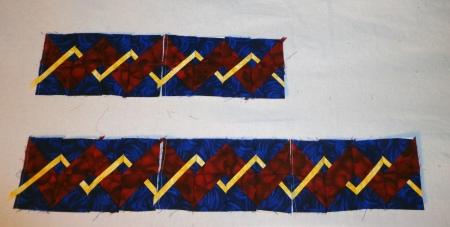 weave borders 5 block centers