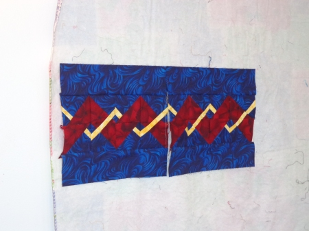 weave quilt blocks two types