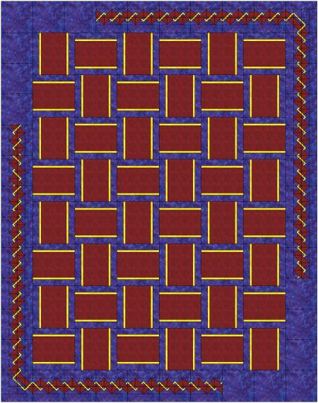 weave updated smaller borders