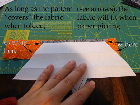 how to measure for paper piecing