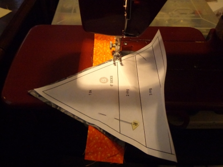 pin one long seam