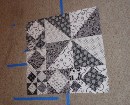 middle section sewn hot air quilt