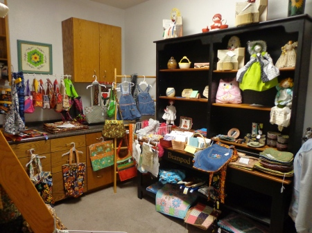 village quilting consignment area