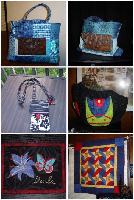 2010 quilt finishes