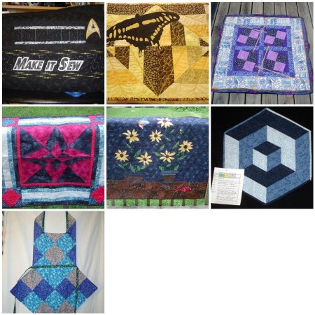 2011 quilt finishes