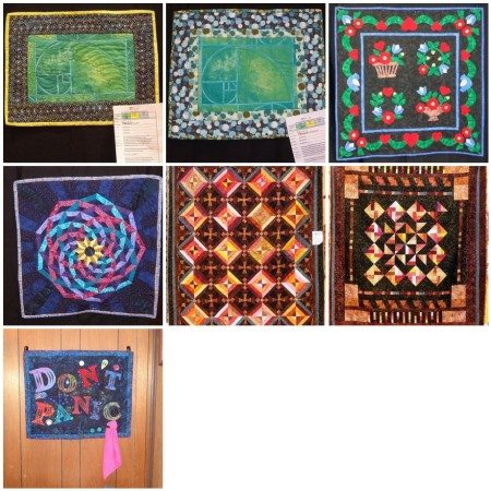 2012 quilt finishes