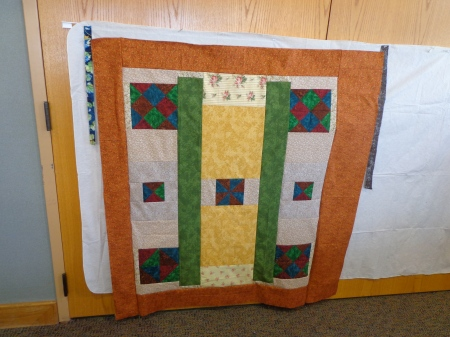 backing to card trick quilt