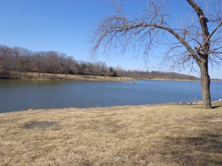 lake in march