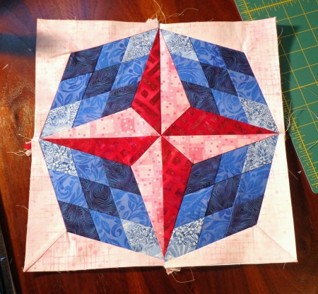 center for round robin quilt darla