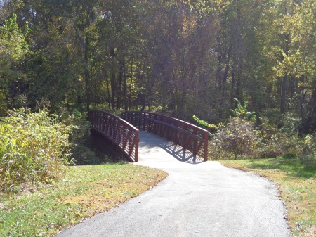 bridge along the new trail