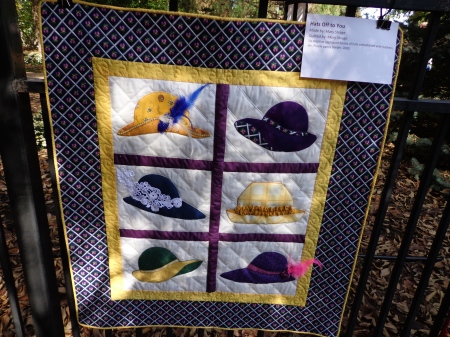 hat quilt mary strege