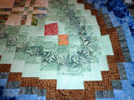 closeup of corner blocks