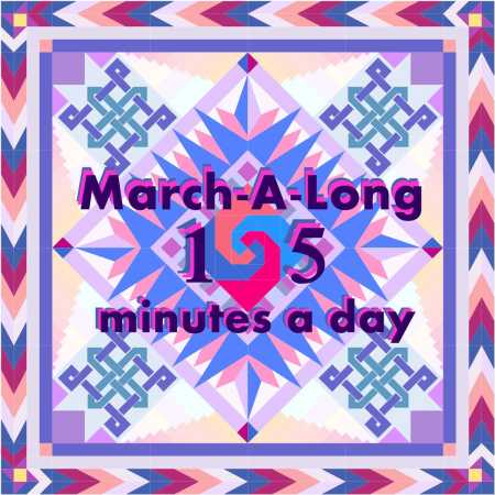 March-A-Long Swirl 15 minutes