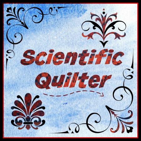 Scientific Quilter Blue Painted