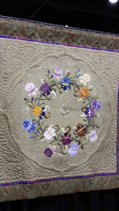 applique quilt best of show for me