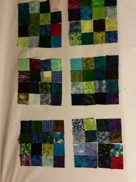 16 patches for scrap quilt arkansas crossroads