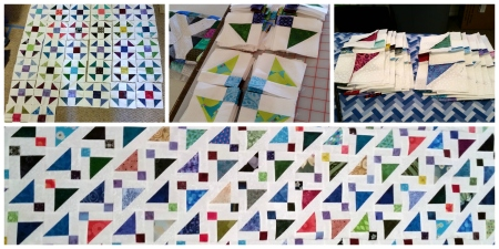 shoo fly quilt block to disappear to sew to purple lightning dsf quilt