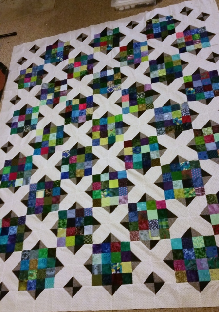 winslows corners quilt top backwards corners