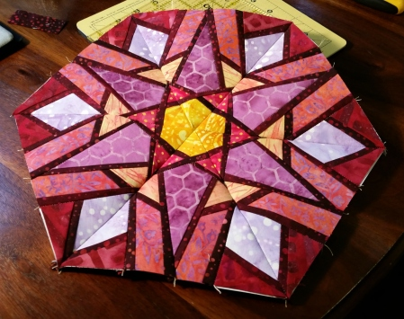 february stained glass hexie