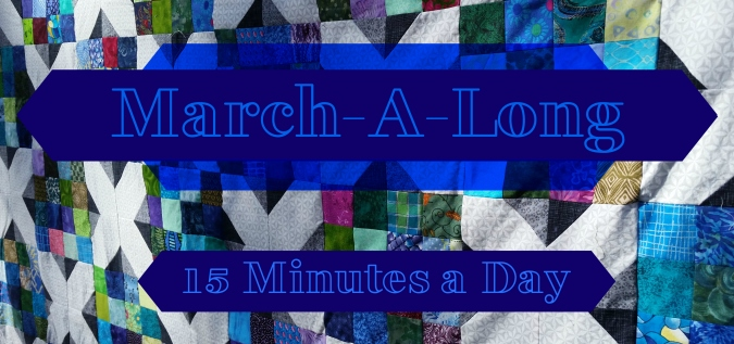 March A Long Sewing