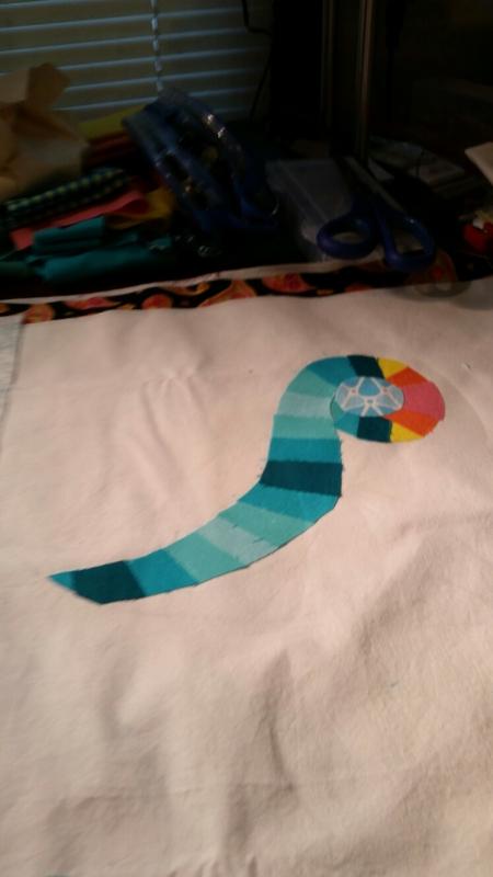 gradient challenge first piece