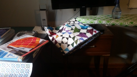 Sewing scientific quilter this next piece isnt a quilt but a metal barn quilt that i had to purchase at the show i promised myself it would make it outside in my yard urtaz Choice Image